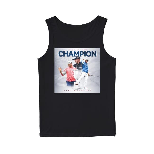 119th US Open Champion Gary Woodland Tank top