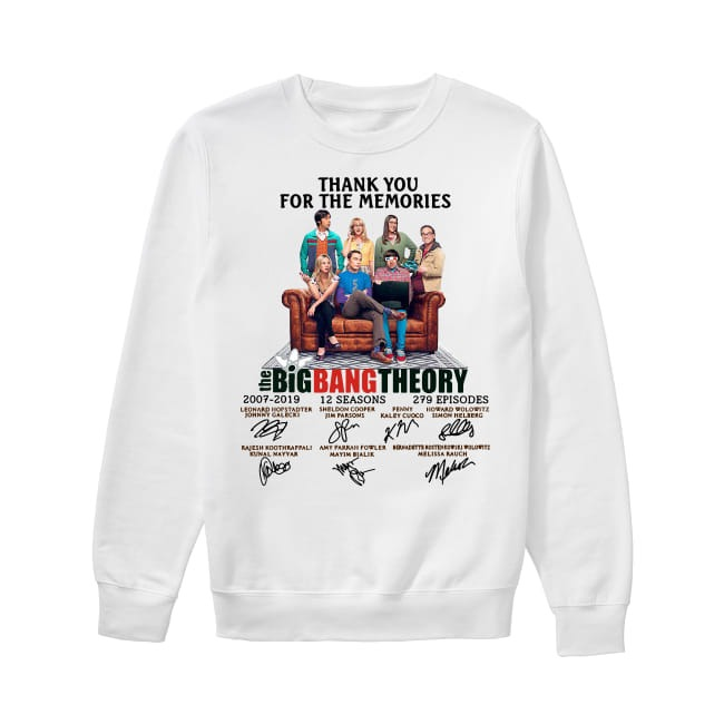 12th Years Of The Big Bang Theory 2007-2019 Sweater