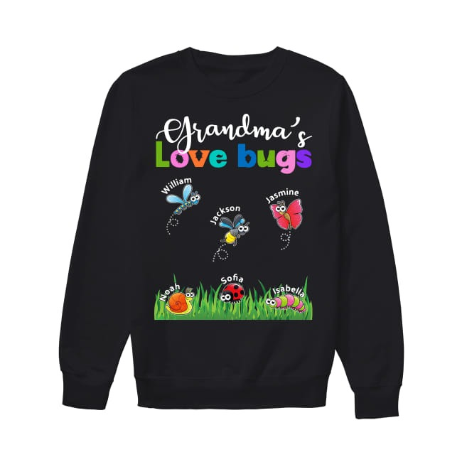 Grandma's Love Bugs Sweater