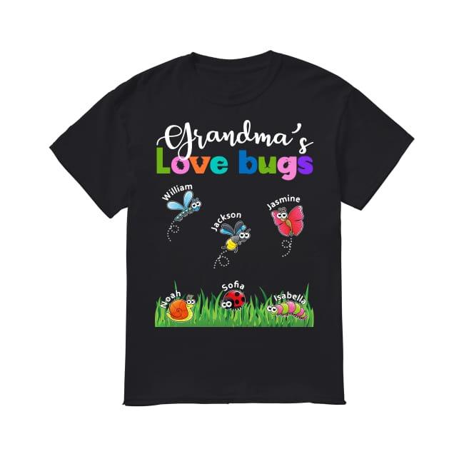 Grandma's Love Bugs shirt