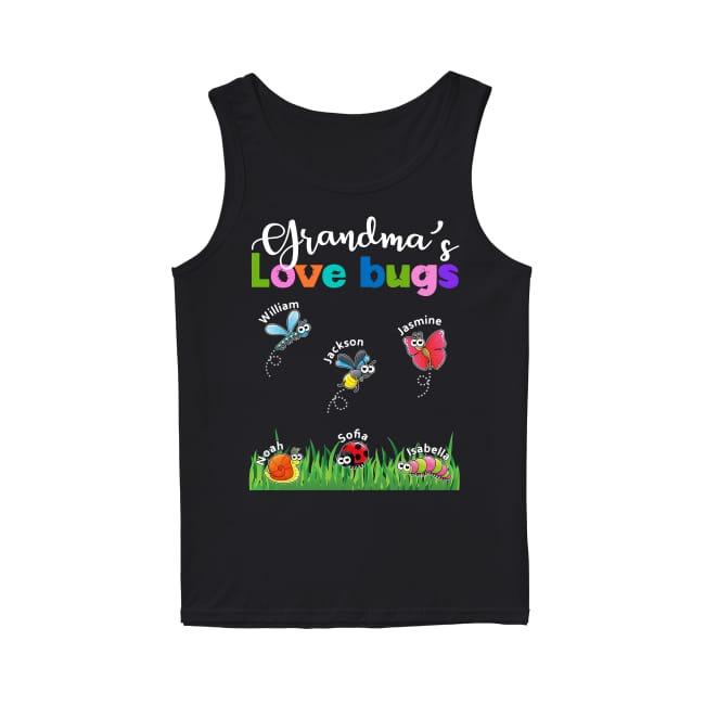 Grandma's Love Bugs Tank Top