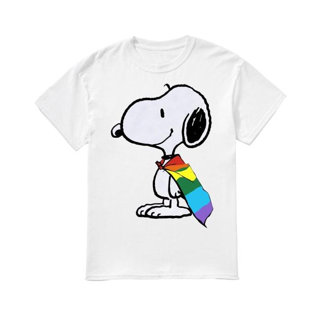 LGBT Snoopy shirt