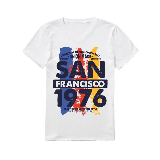 San Francisco 1976 V-neck T-shirt