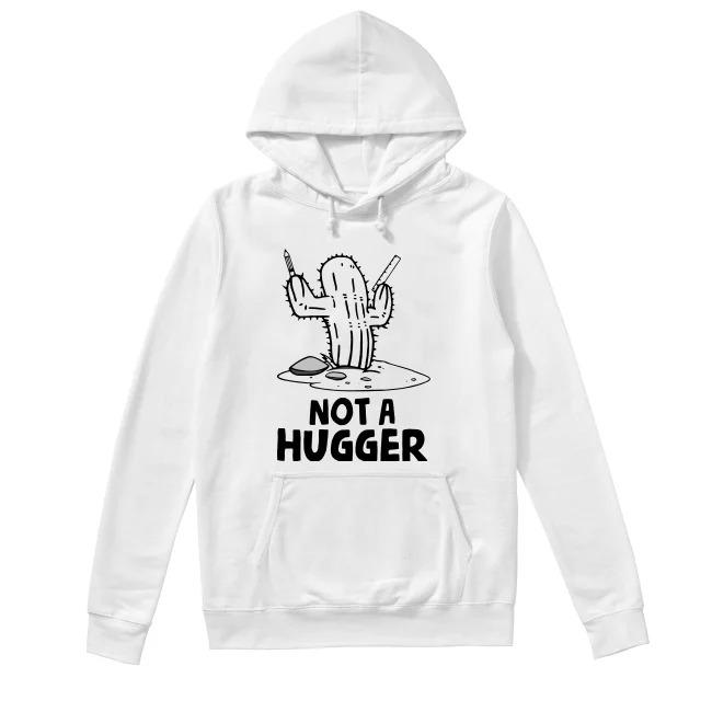 Teacher's Day Not a hugger Hoodie