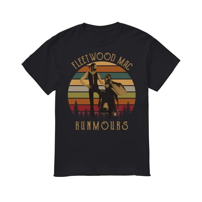 Vintage Fleet Wood Mac Rumours shirt