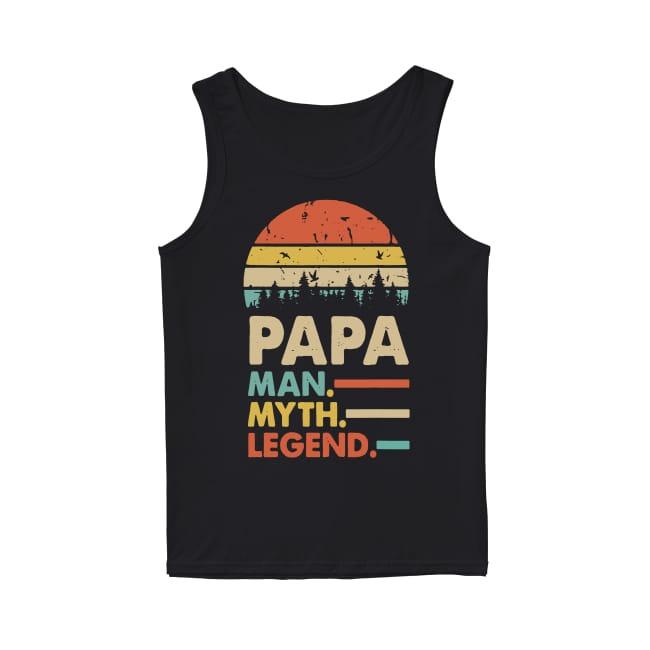 Vintage Papa Man Myth and Legend Tank Top