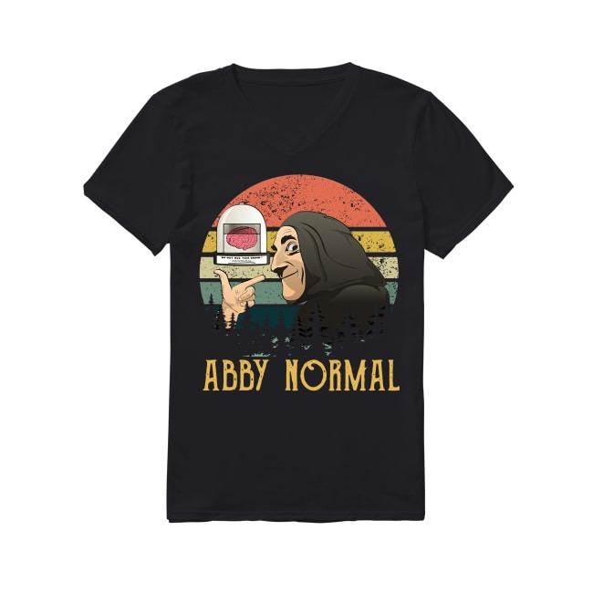 Vintage Young Frankenstein Abby Normal V-neck T-shirt