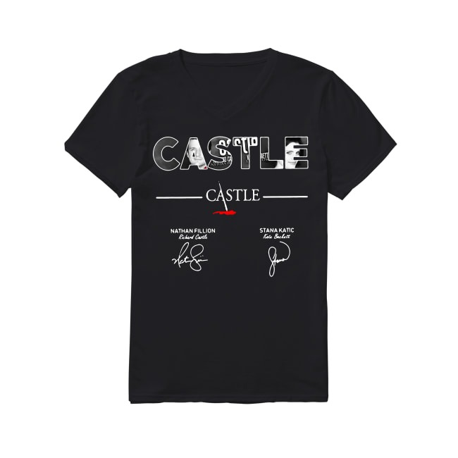 10th Years Of Castle 2009-2019 V-neck T-shirt