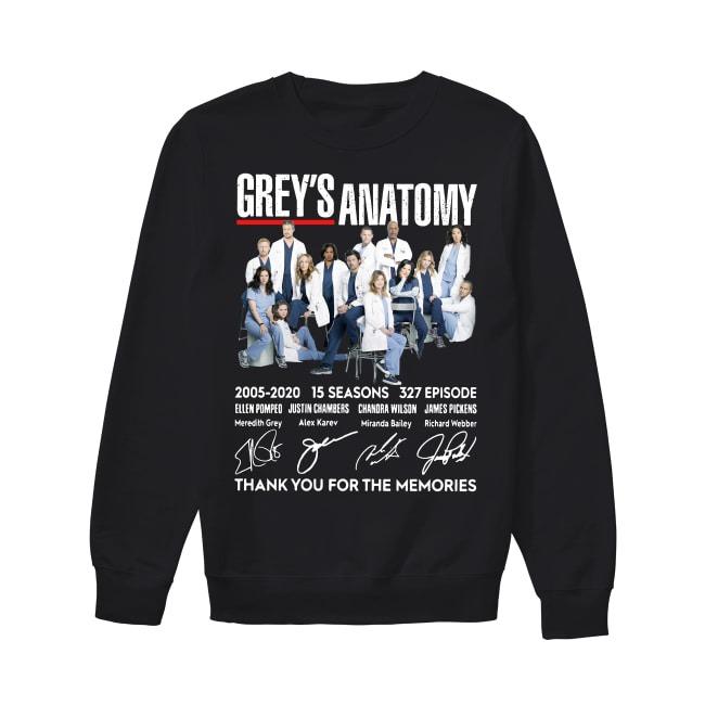 15th Years Of Grey's Anatomy 2005-2020 Sweater