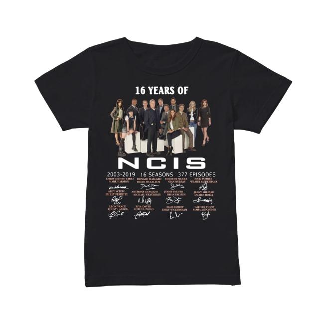 16th Years Of NCIS New Orleans 2003-2019 Ladies Tee