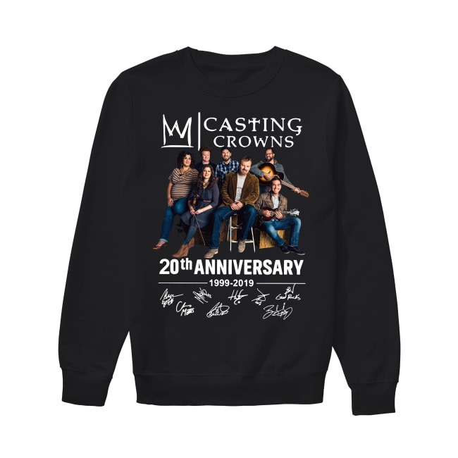 20th Anniversary Casting Crowns 1999-2019 Sweater