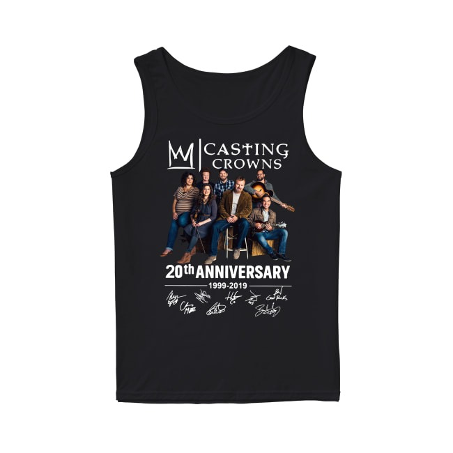 20th Anniversary Casting Crowns 1999-2019 Tank Top