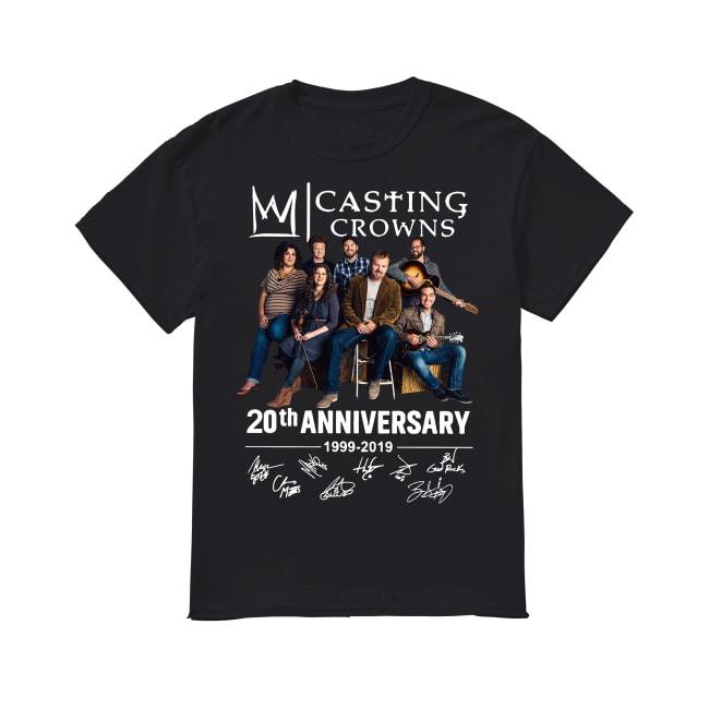 20th Anniversary Casting Crowns 1999-2019 shirt