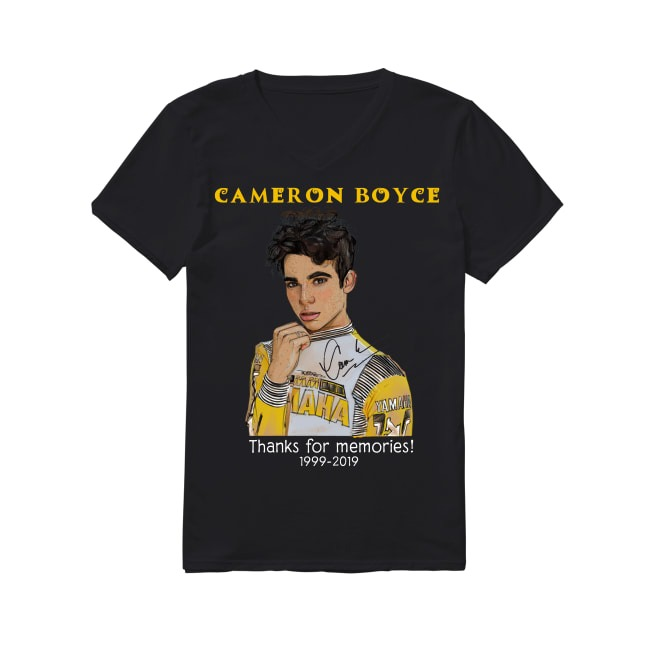 20th Years Of RIP Cameron Boyce 1999-2019 V-neck -T-shirt