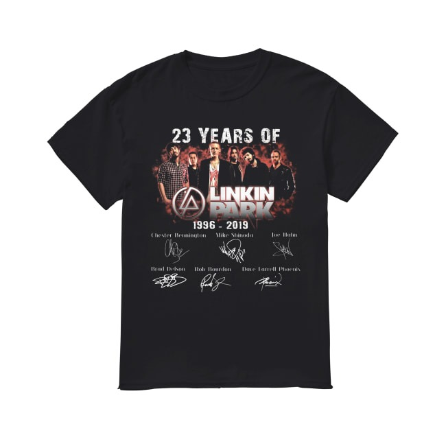 23th Years Of Linkin Park 1996-2019 shirt