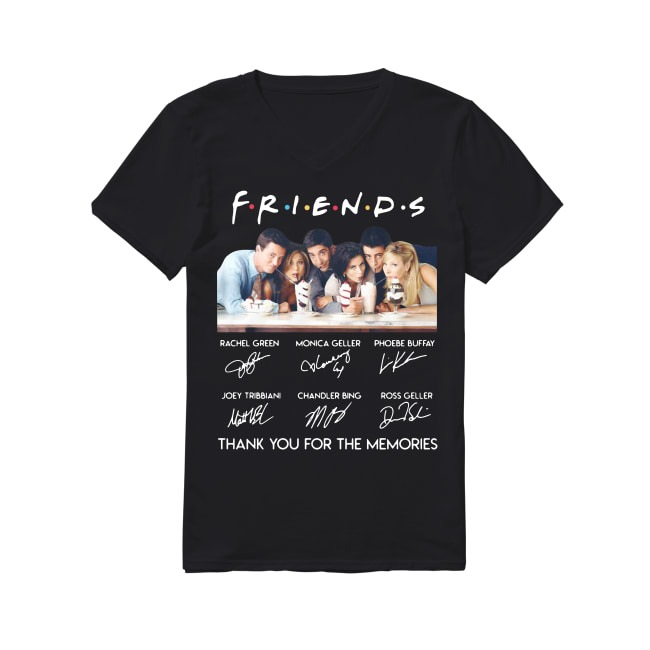 25th Years Of Friends 1994-2019 V-neck T-shirt