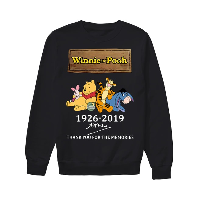 93th Years Of Winnie The Pooh 1926-2019 Sweater