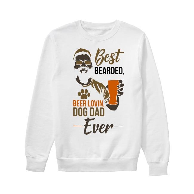 Best Bearded Beer Lovin Dog Dad Ever Sweater