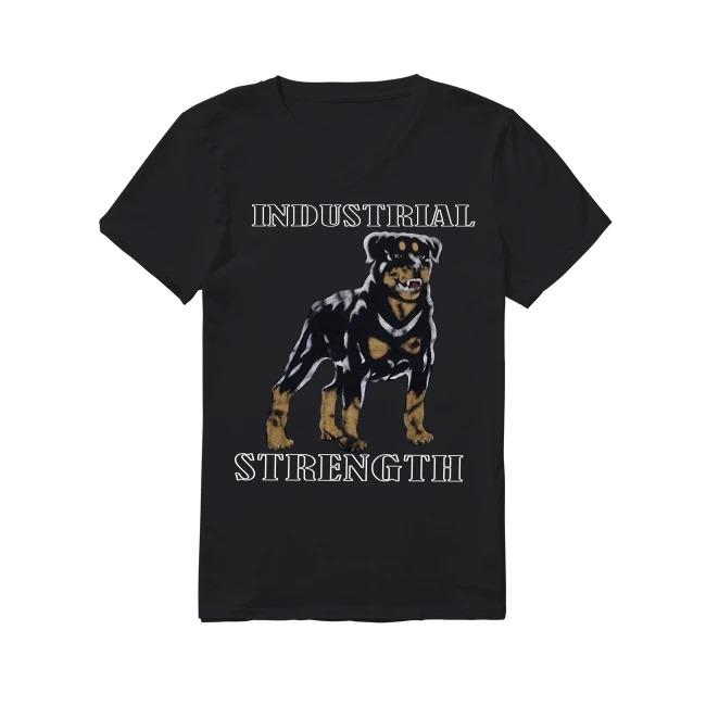 Dog Industrial strength V-neck -T-shirt