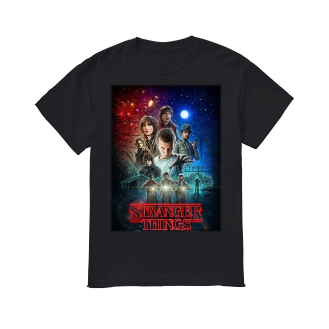 Eleven Netflix Stranger Things shirt