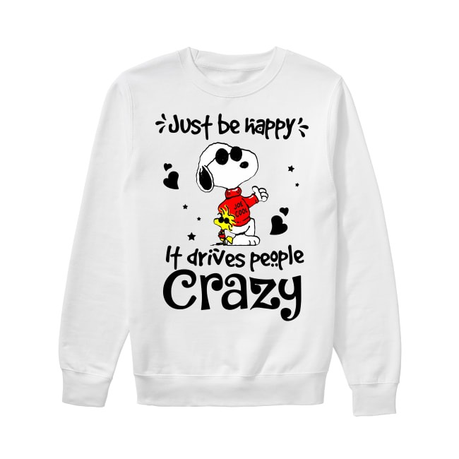 Snoopy Just be happy Sweater
