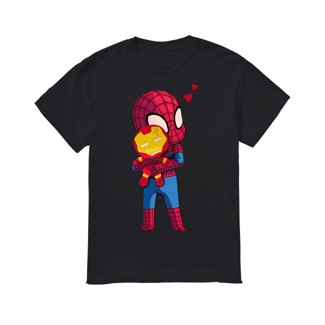 Tonny Starks and Spider-Man shirt