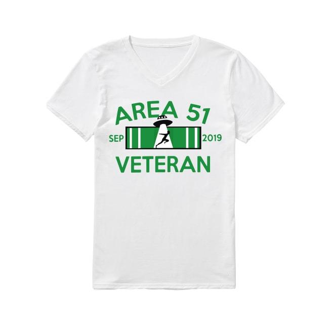 Veteran Area 51 September 2019 V-neck T-shirt