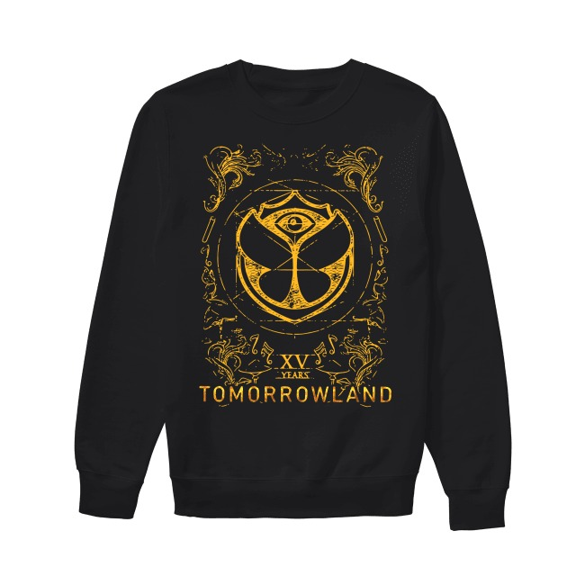 15th Years Tomorrowland 2019 Sweater15th Years Tomorrowland 2019 Sweater