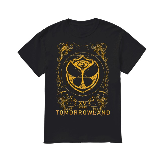 15th Years Tomorrowland 2019 shirt