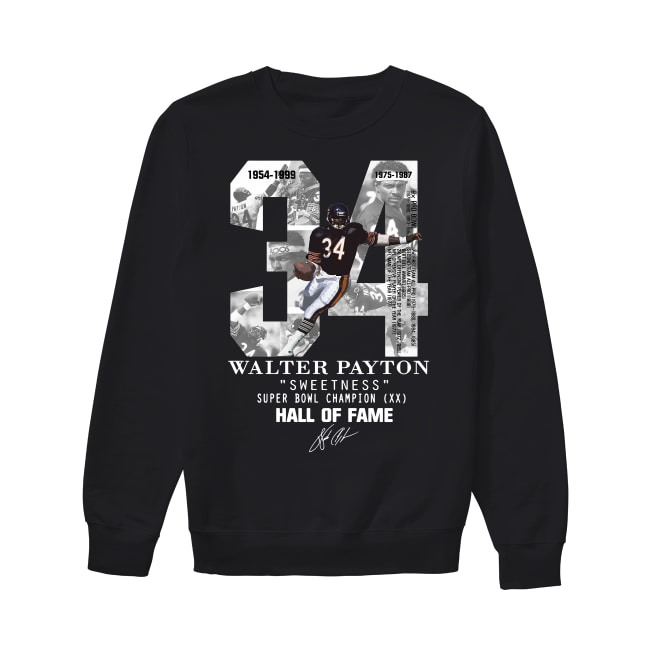 20th Anniversary Walter Payton Sweetness 1954-1999 Sweater