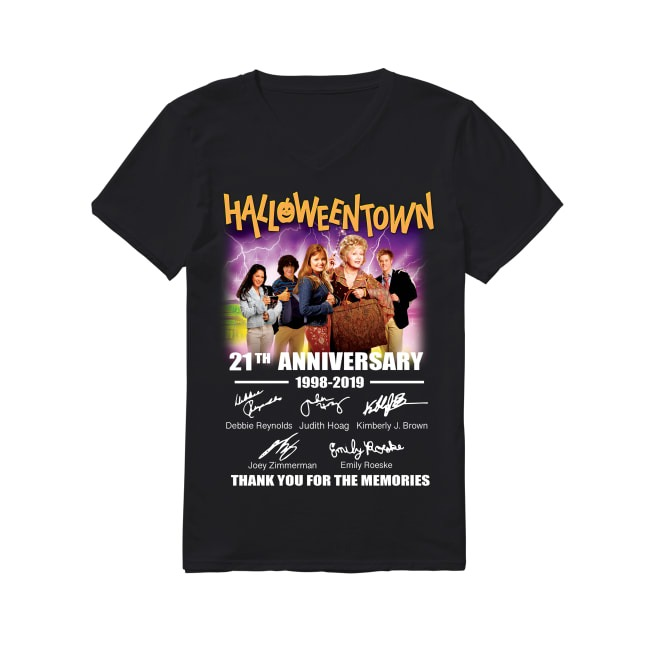 21th Halloween Town 1998-2019 V-neck T-shirt