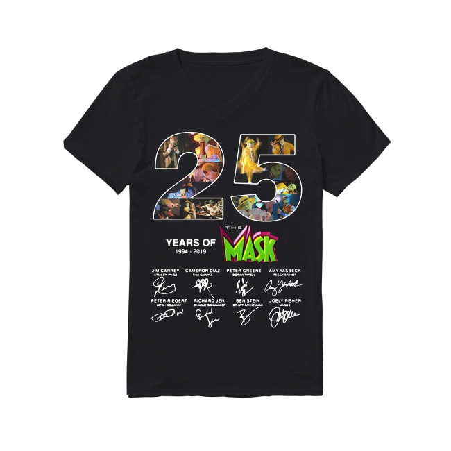25th Years Of The Mask 1994-2019 V-neck T-shirt