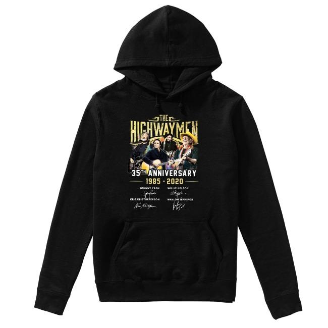 35th Anniversary The Highwaymen 1985-2020 Hoodie