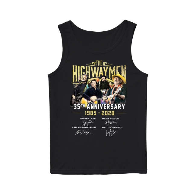 35th Anniversary The Highwaymen 1985-2020 Tank Top