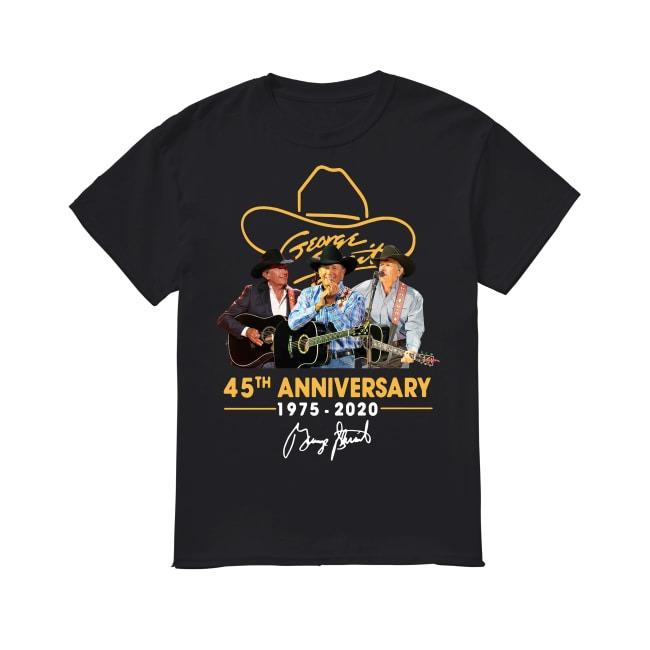 45th Anniversary George Strait 1975-2020 shirt