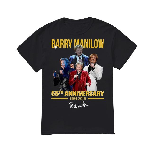 55th Anniversary Barry Manilow 1964-2019 shirt