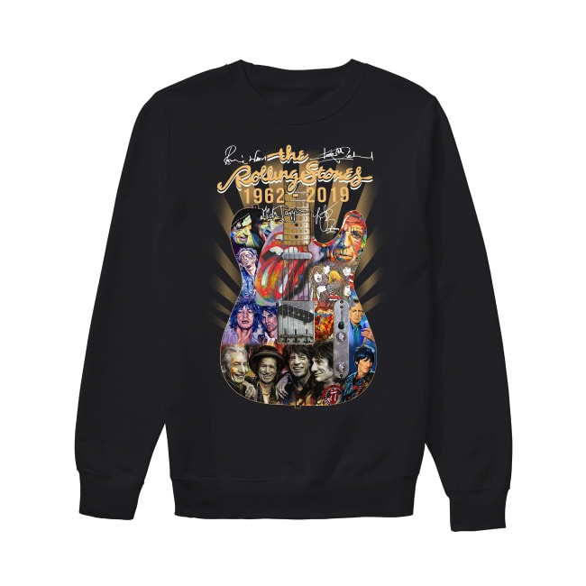 57th Years Of The Rolling Stones 1962-2019 Sweater