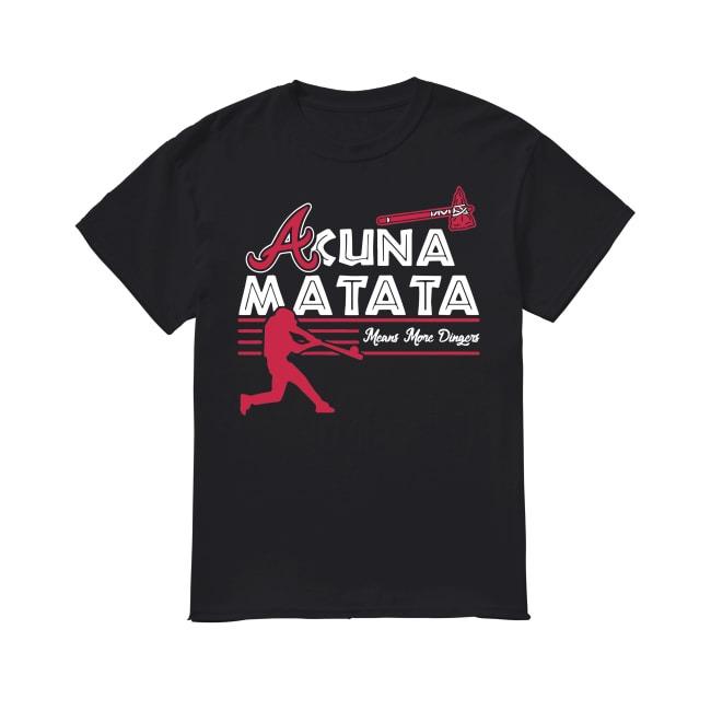 Acuna Matata Baseball shirt