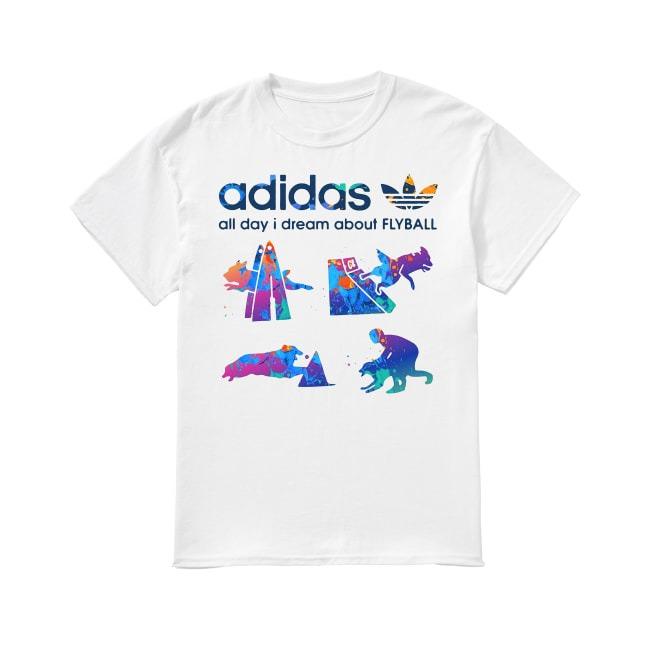 Adidas Logo and Dog Lover shirtAdidas Logo and Dog Lover shirt