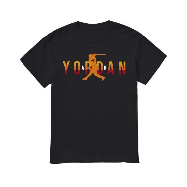 Alvarez Air Yordan Major League Baseball shirt