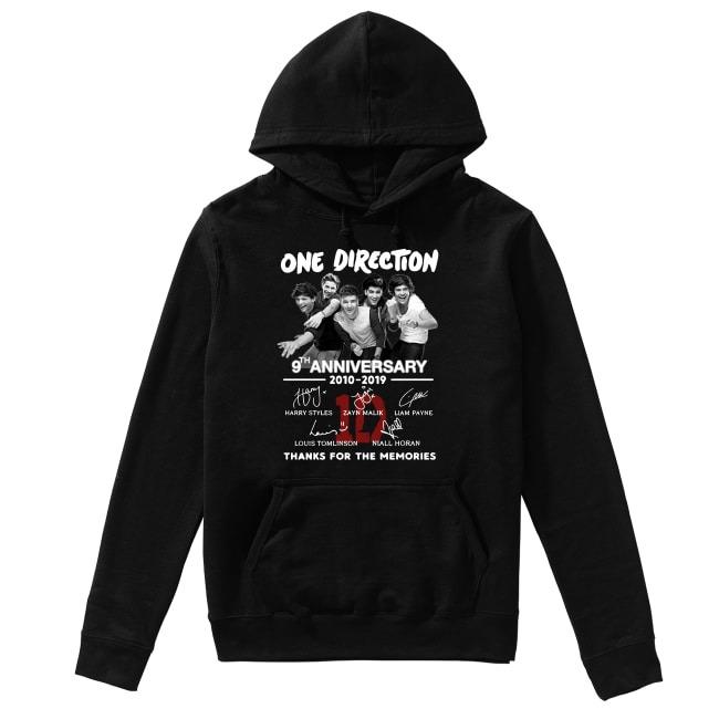 Anniversary One Direction 2010-2019 Hoodie
