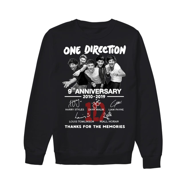 Anniversary One Direction 2010-2019 Sweater