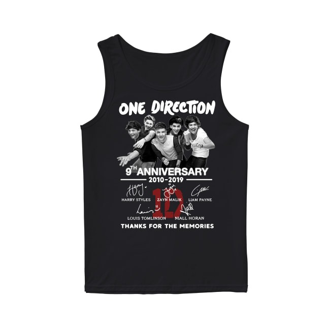 Anniversary One Direction 2010-2019 Tank Top