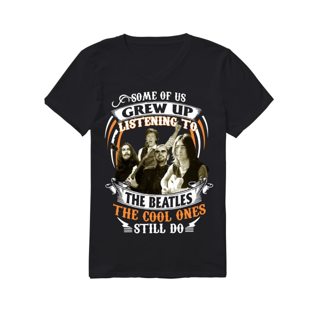 The Beatles The Cool Ones Still V-neck T-shirt