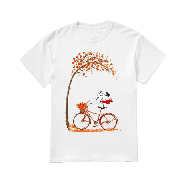 Fall and Snoopy shirt