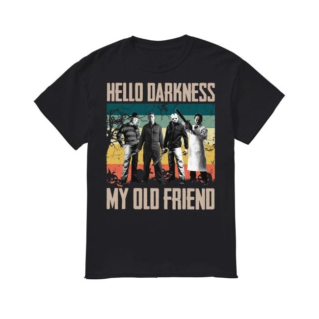 Halloween Hello Darkness shirt