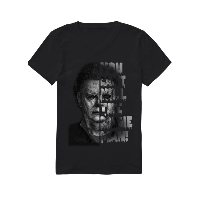 Halloween Massacre You Can't Kill The Boogeyman V-neck T-shirt