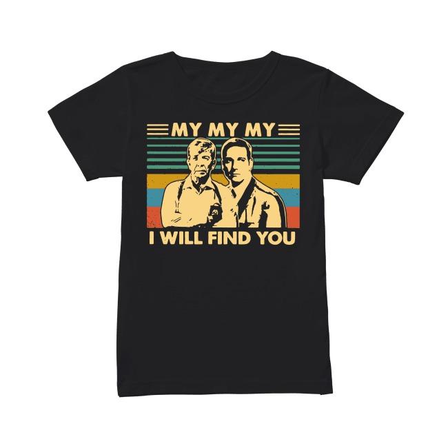 Homicide Hunter Lt. Joe Kenda I Will Find You shirt