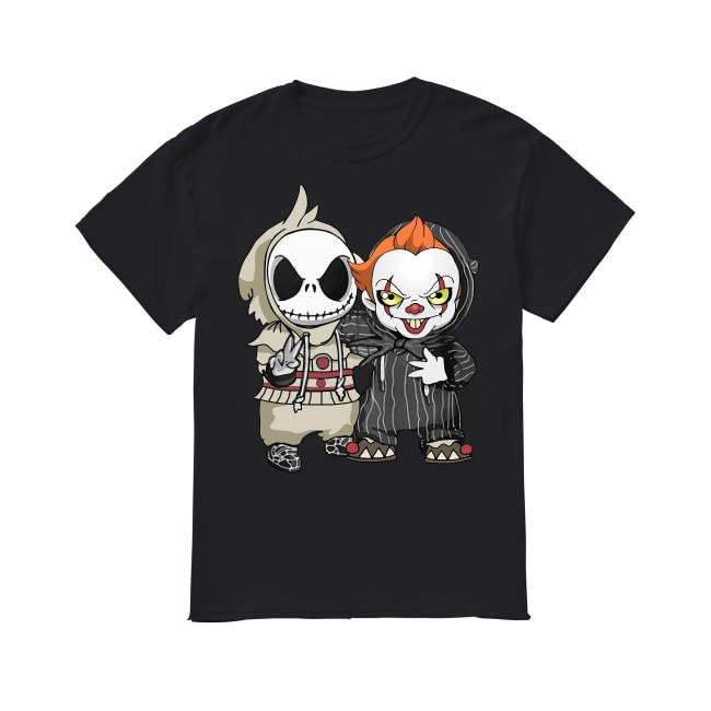Jack Skellington and Joker shirt