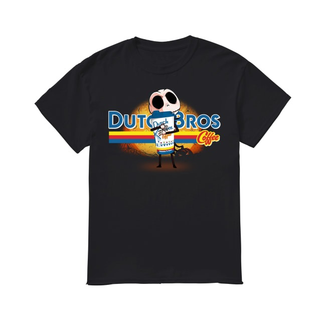 Jack Skellington Dutch Bros Coffee shirt